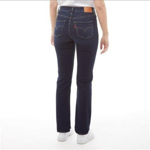 NWT Levi's shaping straight jeans 4 27W